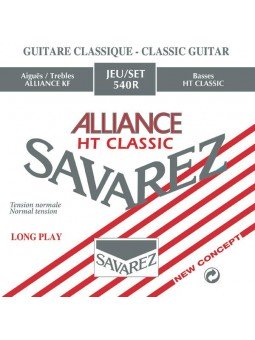 Savarez ALLIANCE Rouge Jeu...