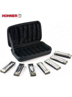 Hohner Bluesband Harmonica Set